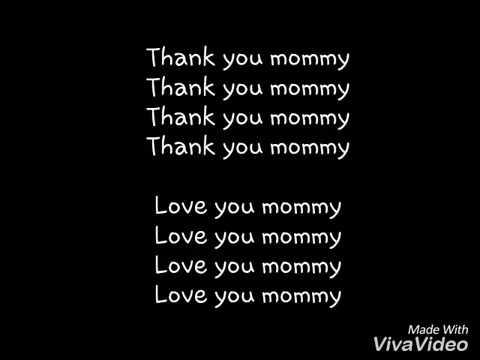 Lirik Lagu Thank You Mommy GenHalilintar