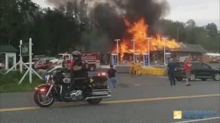 Fire Destroys Clearwater Market