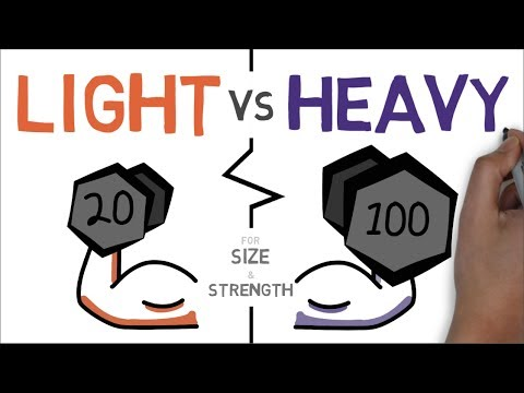 Heavy Vs Light Weights