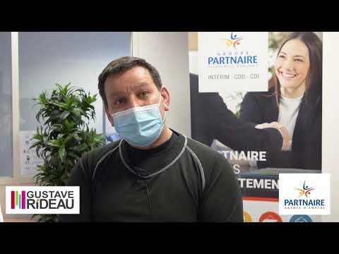 Les témoignages Partnaire - Fabrice, agent de production Partnaire dans le secteur volets !