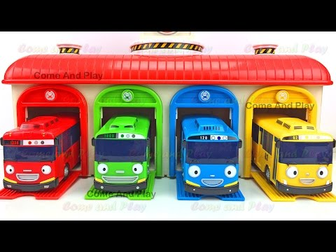 Thumbnail: Tayo Tayo Little Bus Surprise Toys Chupa Chups Fidget Spinner Shimmer Shine Disney Learn Colors Kids