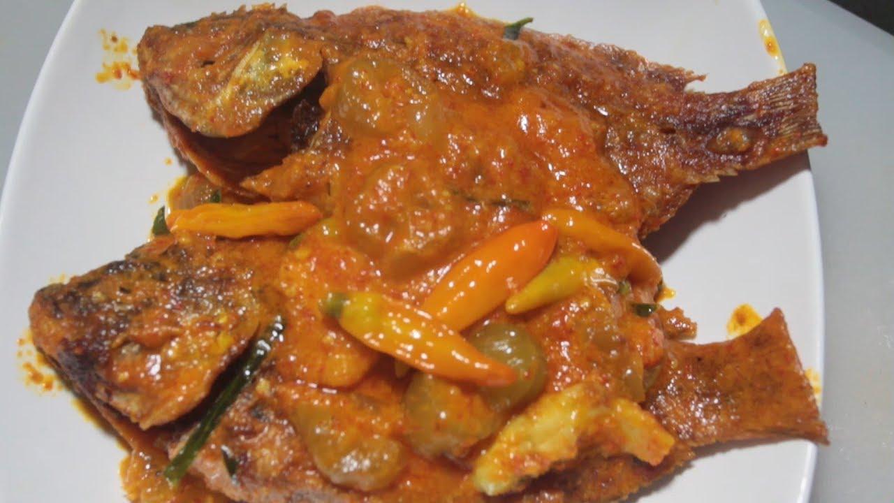Resep Ikan Nila Asam Manis Belimbing Wuluh Youtube
