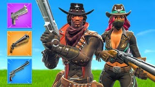 The *RED DEAD* CHALLENGE in Fortnite Battle Royale