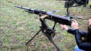 Hotchkiss Mle 1914 Machine Gun