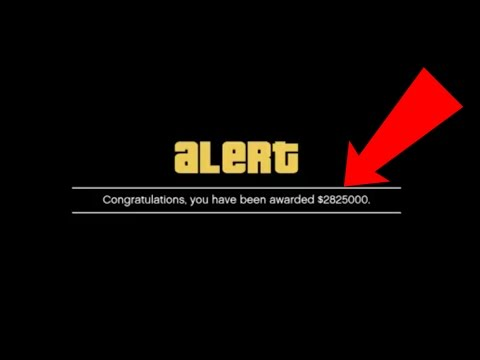 GTA 5 Online - GET $2,825,000 FOR FREE!!! ROCKSTAR IS GIVING FREE MONEY TO EVERYONE!!!
