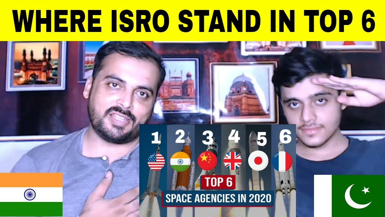 Pakistani Reacts On World's Top 6 Space Agencies in Hindi || Check Where ISRO stands