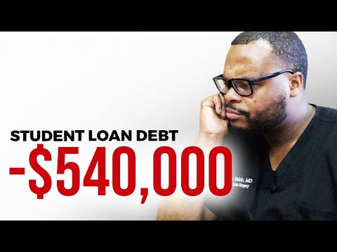 My Plan for my $540,000 Student Loan Debt....