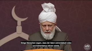 Auszug aus Rede Seiner Heiligkeit | Kalif in Deutschland (4)