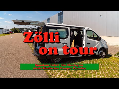 Zölli on tour - Spontane Fahrt - Ein Montag im niederländischen Camper Paradies from YouTube · Duration:  14 minutes 2 seconds