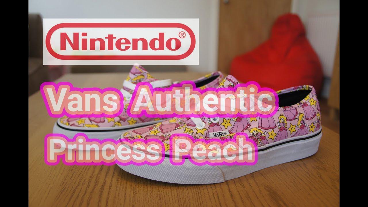 e261c44f9f96 Nintendo x Vans Authentic
