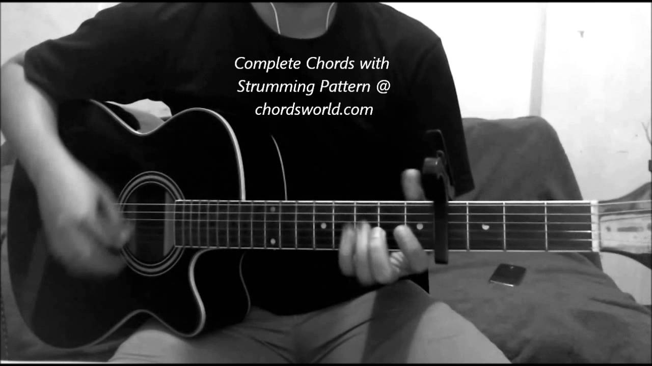 Glorious Chords By Foxes Chordsworld Youtube