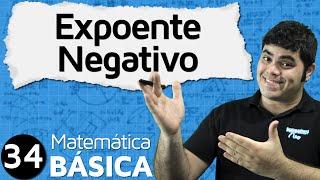 Potência com Expoente Negativo (com pegadinhas) | MATEMÁTICA BÁSICA #34