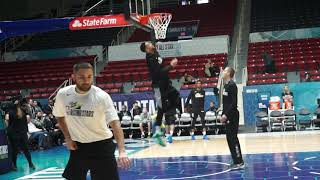 Ben Simmons makes a back door dunk looks so easy with his freakish athleticism