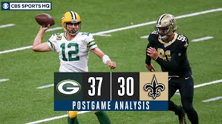 Week 3 Recap: Aaron Rodgers and the Packers out-duel the Saints in New Orleans | CBS Sports HQ