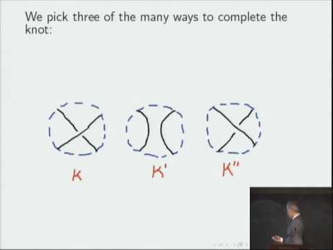 Knots And Quantum Theoryn - Edward Witten