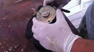 Снятие установка ремонт мотора печки LADA Kalina