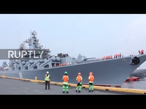 Philippines: Russian warship Varyag arrives in Manila for goodwill visit
