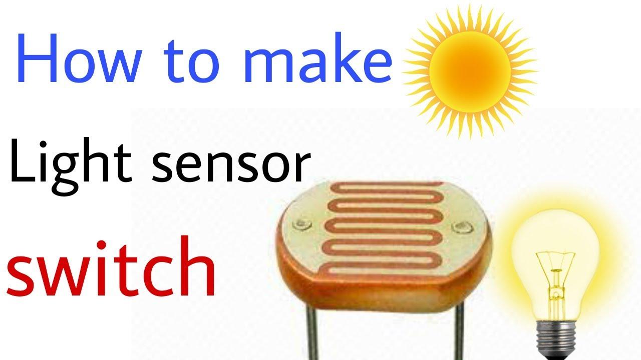How to make light sensor switch circuit - YouTube
