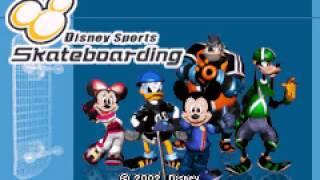 [Game Boy Advance] Disney Sports - Skateboarding