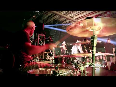 Zildjian Performance - Justin Foley of Killswitch Engage plays Beyond the Flames