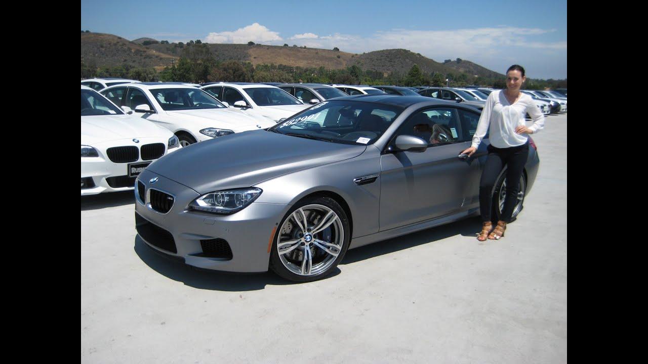 BMW M6 Frozen Grey Exhaust
