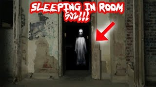 I SLEPT IN ROOM 502 IN WAVERLY HILLS SANITORIUM *MOST HAUNTED ROOM* | MOE SARGI