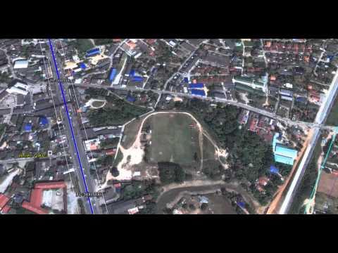 แผนที่ บูรพาวิถี จุดขยาย ชลบุรี พัทยา 7 เส้นทางใหม่