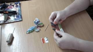Бабочка из бумаги поделки своими руками мастер класс  сделай сам оригами