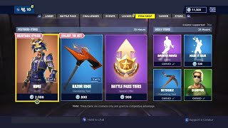 FORTNITE ITEM SHOP NOVEMBER 6 - FORTNITE NEW SKINS UPDATE (NEW FORTNITE BATTLE ROYALE DAILY ITEMS)
