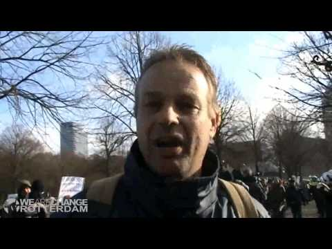 Break the system, The Hague-The Netherlands police state