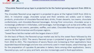 Flavored Syrups Market, By Flavor , Fruit, Chocolate, Vanilla, Coffee and Herbs & Seasonings