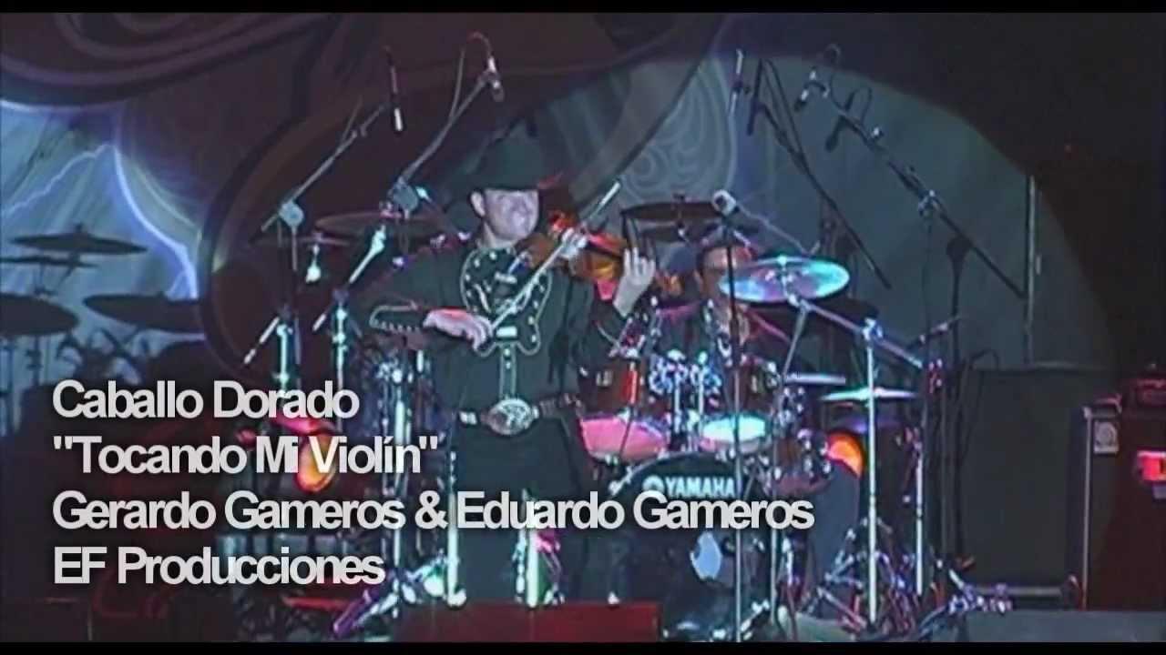 Caballo Dorado Tocando Mi Violin En Concierto Youtube