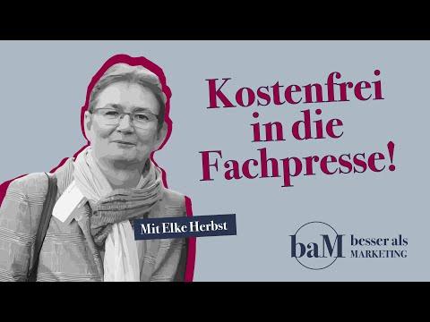 Kostenfrei die Fachpresse: Verlags-Geschäftsführerin gibt Tipps - Interview mit Elke Herbst