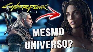 THE WITCHER E CYBERPUNK 2077 SE PASSAM NO MESMO UNIVERSO? ENTENDA!