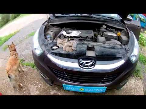 Не заводится, глохнет Hyundai ix35 (Hyundai Tucson). ЭР Ч2_CVVT.