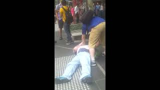 Teen Attacked by a Racist in Melbourne