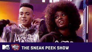 Prince Royce & Amara La Negra Stop By 'Wild 'N Out' | The Sneak Peek Show | MTV