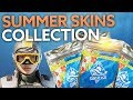 Rainbow Six Siege Sunsplash collection - new summer skins revealed
