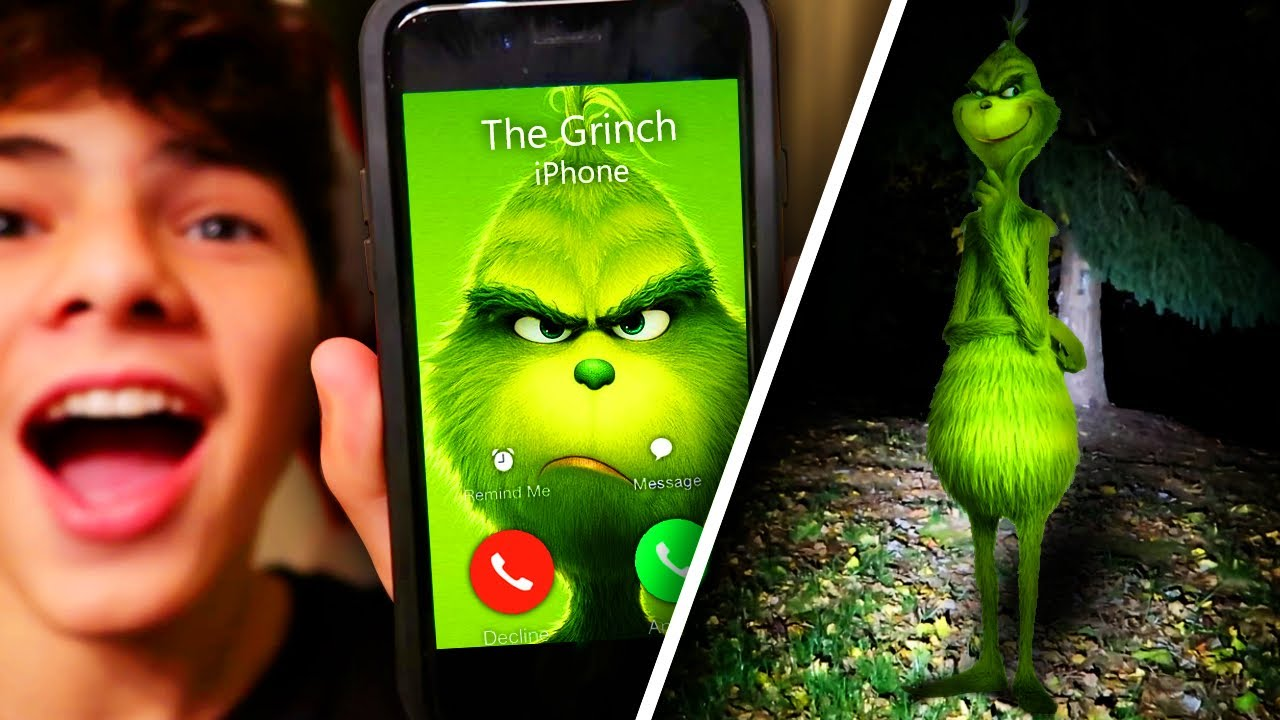 find the grinch phone number # 3