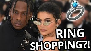KYLIE JENNER AND TRAVIS SCOTT ENGAGED?!