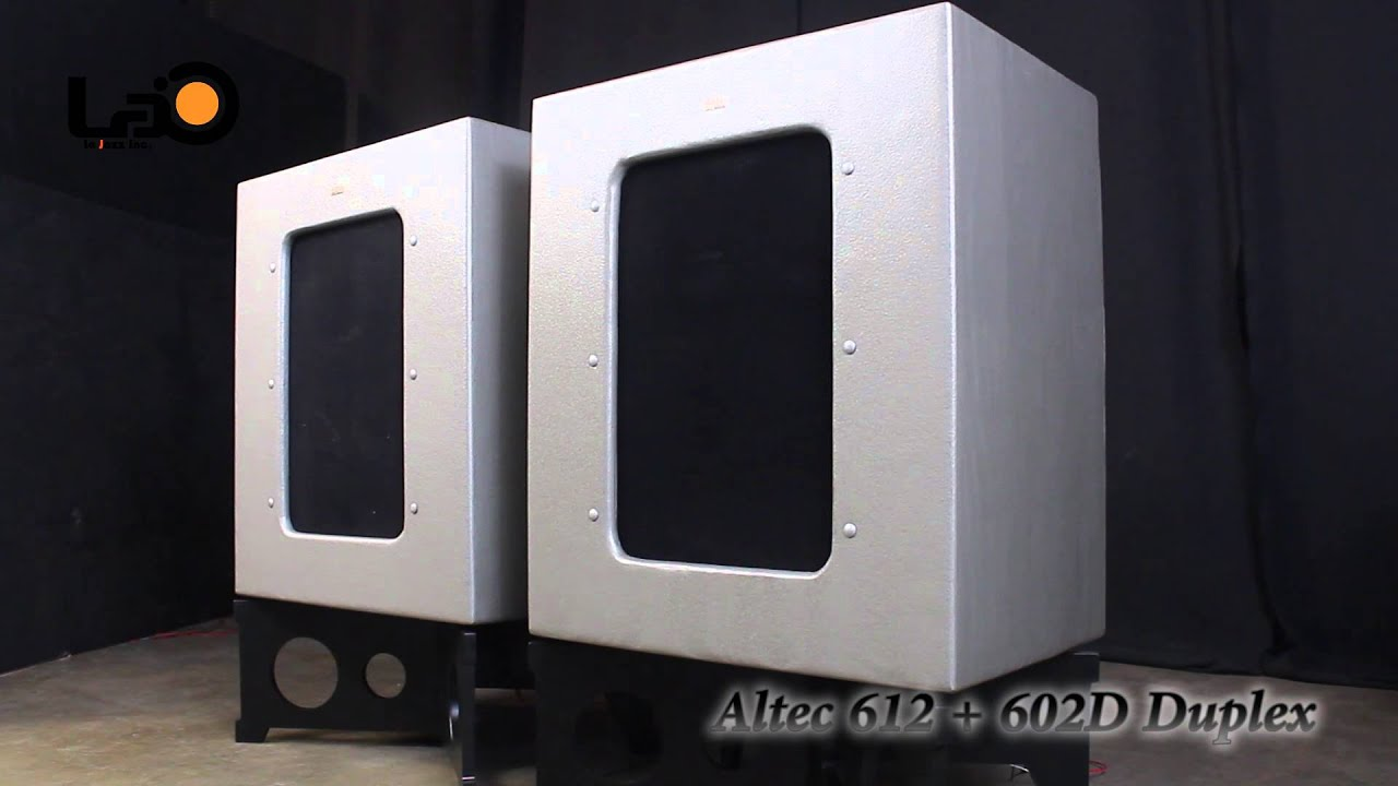 Altec 612 602 mp - YouTube
