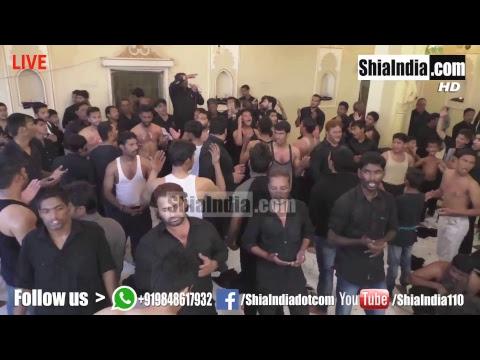 7th Muharram Hzt Qasim Mehndi Majlis Near Pari Mahal 1439-2017-18