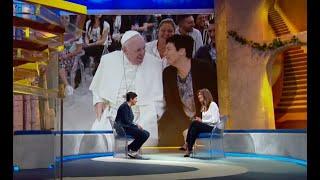 Papa Francesco visita Nuovi Orizzonti - Sulla Via di Damasco con Chiara Amirante