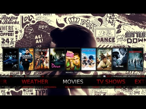 Kodi 18 Builds For 2017 (The Artsy V2 Build) For Kodi 18 Leia
