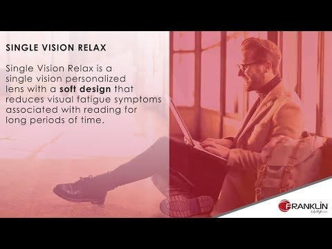 Franklin FreeForm Specialty Designs: Single Vision Relax