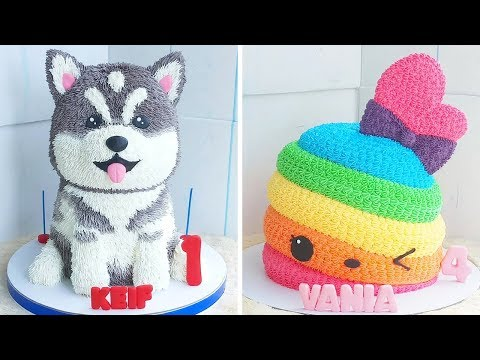 10 Beautifully Easy Cake Decorating Ideas | Awesome DIY Homemade Cake Recipe | So Yummy Cake