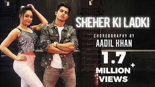 Sheher Ki Ladki Song   Badshah    Aadil Khan    Benazir shaikh   #sheherkiladki #dance