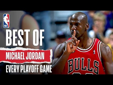 Michael Jordan's Best Play of Every NBA Playoff!