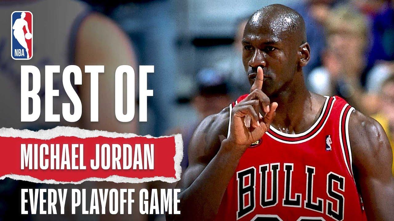 Michael Jordan's Best Play of Every NBA Playoff! - YouTube