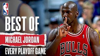 michael jordans best play of every nba playoff